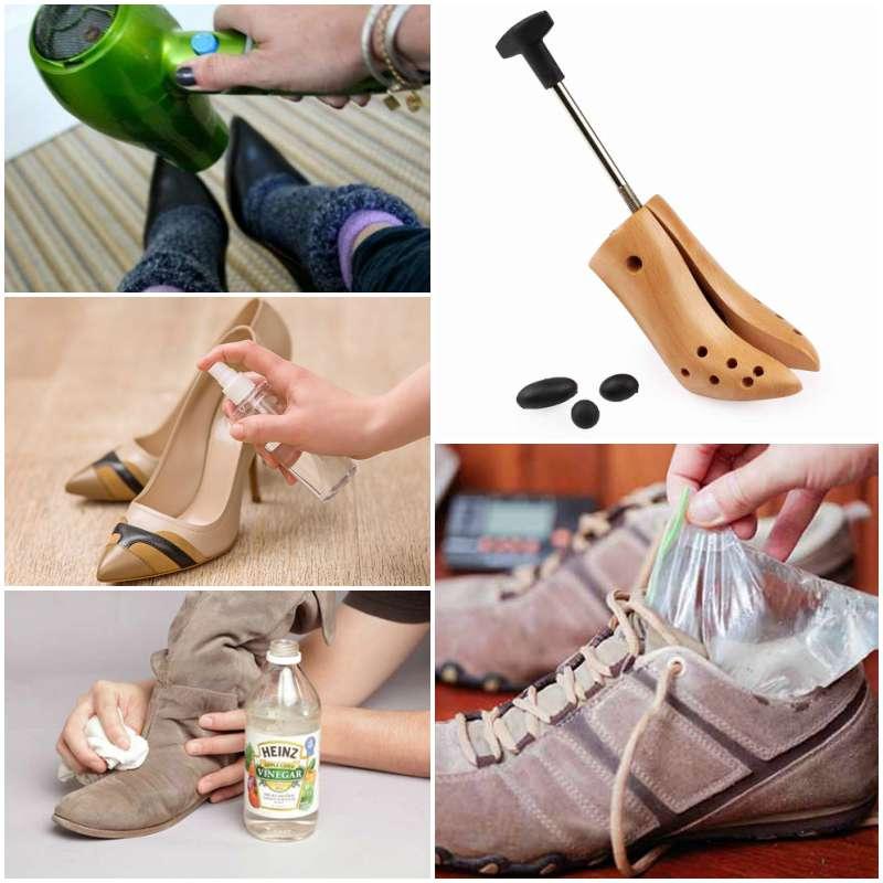 растяжка обуви в домашних условиях