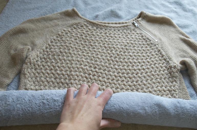 Стирка свитера