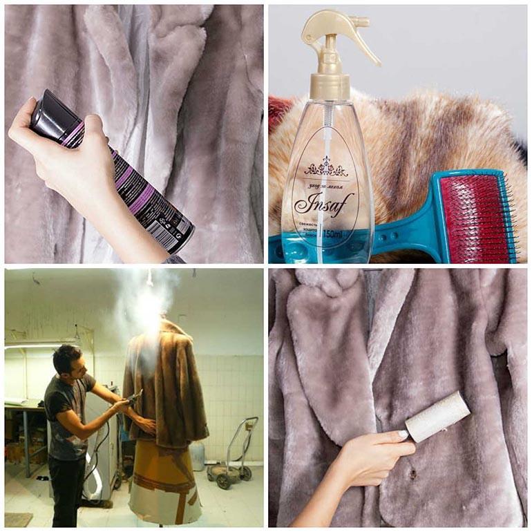 Методы чистки шубы в домашних условиях