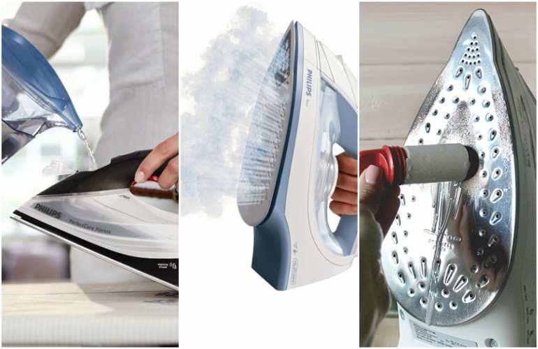 способы чистки утюга от накипи