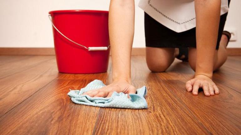 Мытье пола от неприятного запаха