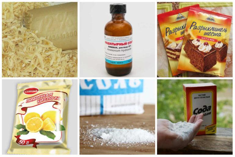 Народные средства для чистки духовки