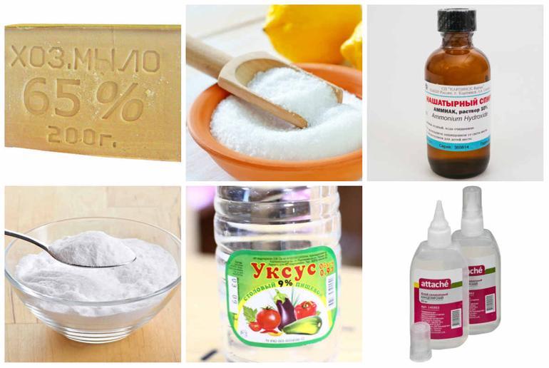 Народные средства для очистки плиты от жира