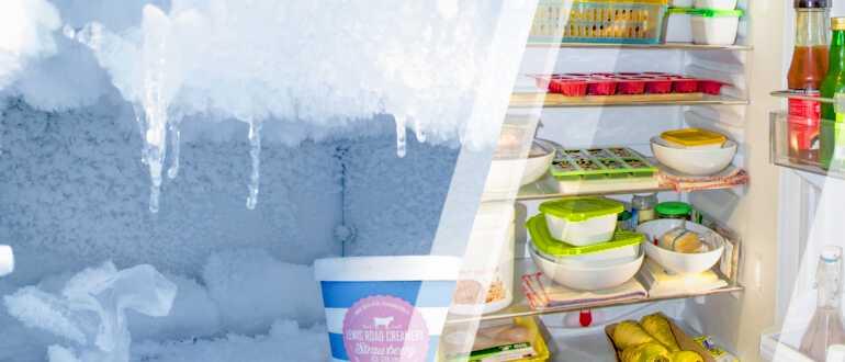 холодильник до и после разморозки